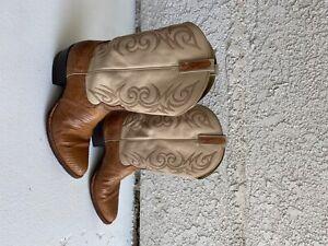 Dan Post Men's Lizard Cowboy Boots Size 12