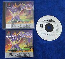 Spyro the Dragon Platinum, PS1, PlayStation 1 Spiel, OVP und Anleitung