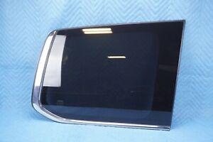 Lexus LX570 Rear Quarter Glass 62710-60E40 Passenger Side 2013-2015 Gray OEM