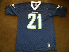 NFL San Diego Chargers LaDainian Tomlinson #21 jersey Mens Large L Reebok