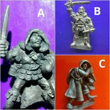 3x ADD8 assassin gw citadel games workshop thiefs tsr AD&D assassins variants