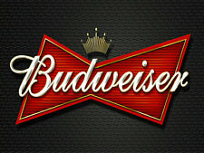 BUDWEISER POSTER KITCHEN PUB BAR METAL SIGN RETRO PLAQUE GARAGE CAVE