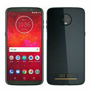 Motorola Moto Z3 OR Z3 Play XT1929 32GB/64GB Verizon OR GSM Unlocked Smartphone