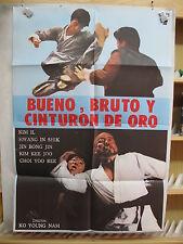 A574       BUENO, BRUTO Y CINTURON DE ORO. DIRECTOR KO YOUNG NAM