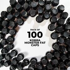 Kobra Monster Fat Caps - 100 Pack