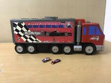 Vintage Micro Machines Grand Prix Racing Lorry Play Set 1999 With 2 Micro Cars
