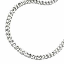 Kette 2,8mm Flachpanzerkette diamantiert Silber 925 60cm