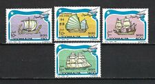 Somalia 1994 Mi#499-502  Sailing Vessels  MNH Stand Alone Set $11.50