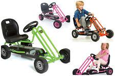 Pedal Go Kart Car Toy Adjustable Seat Ergonomic Control Speed Boys Girls
