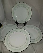 Majestic Fine China Aegean Pattern 10.5 In dinner plate White