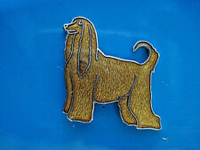 Afghan Dog - hat pin , lapel pin , tie tac , hatpin Gift Boxed (L)