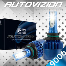 AUTOVIZION LED HID Headlight Conversion kit 9006 6000K for 1990-1997 Jaguar XJ6