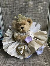 """Annette Funicello Collectible Bear """"Goldie� 12"""" Golden Angel Bear Mohair"""