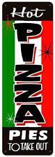 Vintage Retro Hot Pizza Pie Italian Food Metal Sign Shop Diner Restaurant RPC233