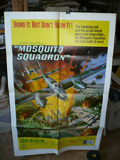 MOSQUITO SQUADRON, orig 1-sht / movie poster (David McCallum) - 1969