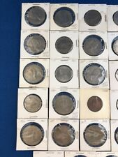 Shilling and Crown coin lot 38 coins UNC/CIRC