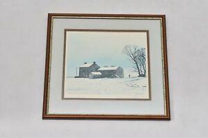 Hannah Hauxwell Last Winter By Peter Brook Print Artists Signature Sun Bleached