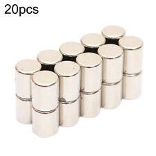 20pcs 4x5mm N52 Round Cylinder Super Strong Blocks Rare Earth Neodymium Magnet
