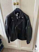 Men's EDWIN Rider Leather Jacket New