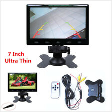 7 Inch Ultra Thin 16mm 16:9 HD TFT LCD Screen Auto Car Rear View Display Monitor