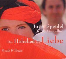Das Hohelied der Liebe - Jutta Speidel/Bruno Maccallini   Hörbuch CD   NEU&OVP
