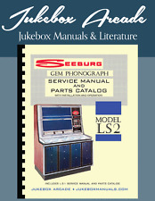NEW! Seeburg LS2 GEM,  Service and Parts Manuals with Installation & Oper Manual