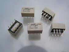 NEC UC2-5NU SIGNAL RELAY DPDT 5V DC 1A THROUGH HOLE 5 pieces I210M OLA1-17