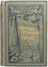 1887 LEATHER STOCKING TALES PIONEERS J Fenimore Cooper Sources Of Susquehanna