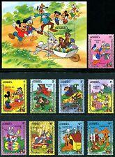 Dominica 832-841 Mnh Walt Disney characters Ester 1984. x10762