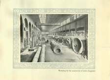 1920 Italy Legnano Workshop For Construction Of Boilers