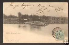 MELUN (77) BARRAGE DE LA SEINE avant 1904