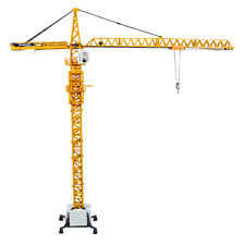 1:50 Scale 360 Degree Ratation Alloy Machinery Engineering Tower Crane Model Toy