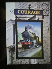 POSTCARD WILTSHIRE CHIPPENHAM - GWR STAR LOCO 4026 'KING GEORGE' PUB SIGN
