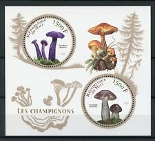 Mali 2016 MNH Mushrooms 2v M/S Champignons Fungi Nature Stamps