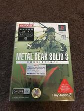 Metal Gear Solid 3: Subsistence (Sony PlayStation 2, japanese collector edition)