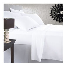 SALE 4PC Bed Sheet Set 800TC 100% Egyptian Cotton White Solid King Size Scala