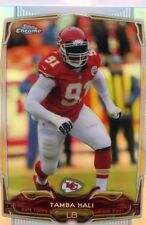 Tamba Hali 2014 Topps Chrome Refractor #21 Kansas City Chiefs