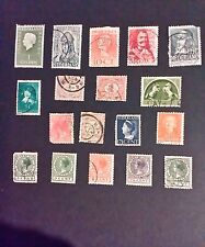 Netherlands Stamps - 1920's/30's/40's- old stamps