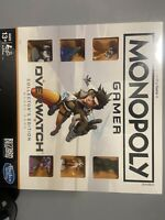 Monopoly Gamer: OVERWATCH Collector's Edition Board Game Hasbro Blizzard - NEW