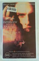 Interview With The Vampire VHS 1994 Horror Tom Cruise Brad Pitt 1996 Small Case