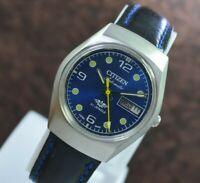 Vintage Citizen Day Date 21 Jewels Automatic  Men's Wrist Watch