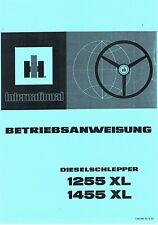 Betriebsanleitung IHC 1255XL 1455XL 1255 XL 1455 XL Betriebsabweisung Bta SO