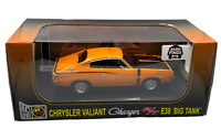 1:24 1971 E38 R/T Valiant Charger - Vitamin C Orange - OzLegend Barn Find Series