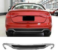 Für Audi A4 8K B8 Diffuser Duplex Diffusor Spoiler für Standard Stoßstange *22