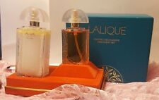 VINTAGE LALIQUE COFFRET DECOUVERTE DISCOVERY SET PARFUM AND BODY LOTION NEW RARE