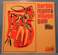HERBIE MANN AT THE VILLAGE GATE LP '62 ORIGINAL STEREO NICE CONDITION! VG/VG+!!A