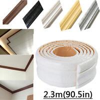 3D Pattern Waterproof Self-adhesive Wallpaper Borders Wall Sticker Home Decor