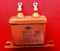 Capacitor K75-15 PIO 3kV 3000V 1uF Military Tesla Coil Soviet Ussr TESTED NEW
