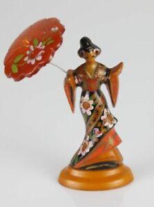 Vintage Bakelite  geisha figurine (1)