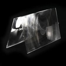 2pc Plastic Fresnel Solar Lens Focal Length185mm 120mm for Diy Home Projector